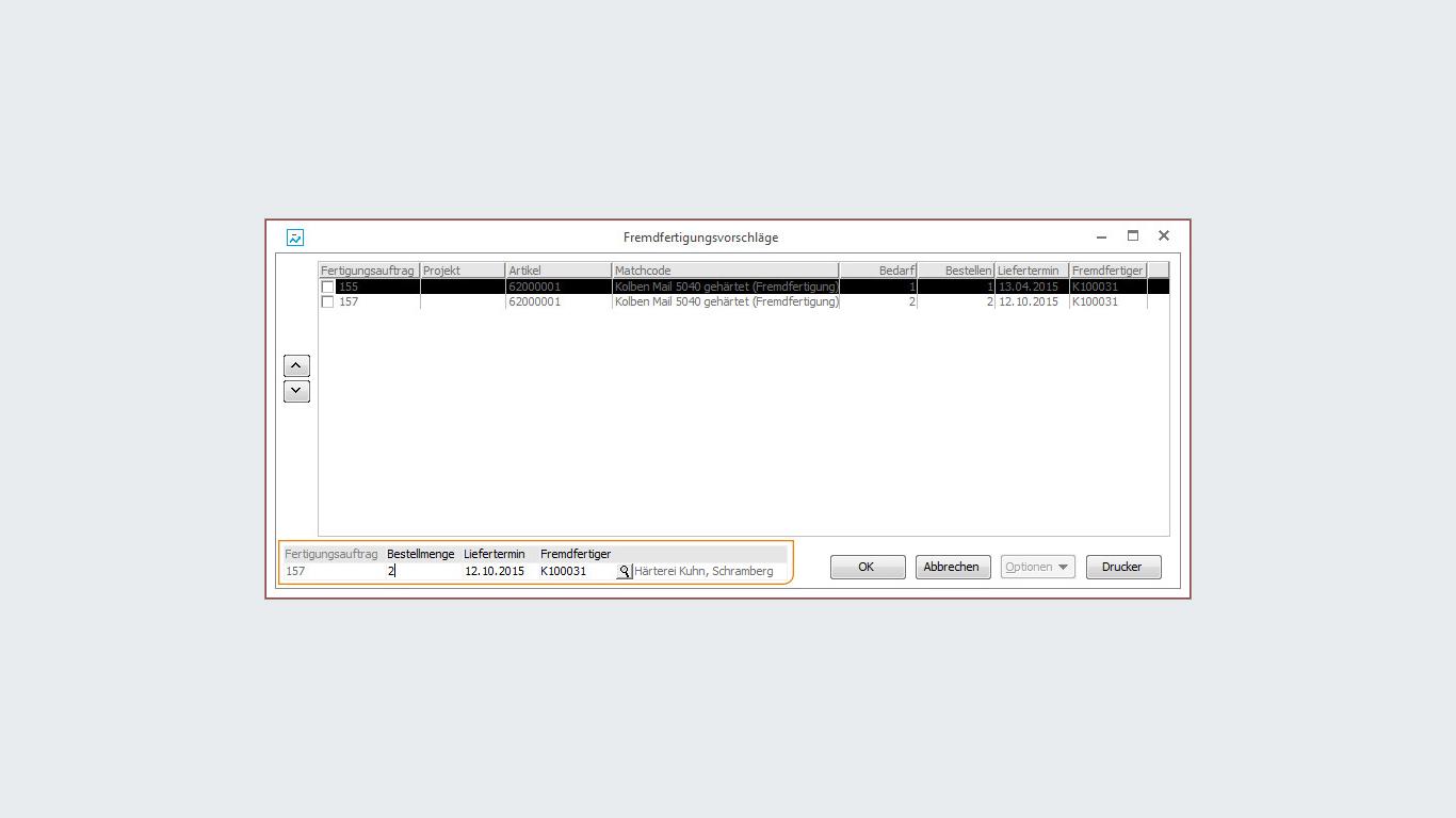 Arbeiten mit der Fremdfertigung in der Sage Office Line | Abaco Soft ...